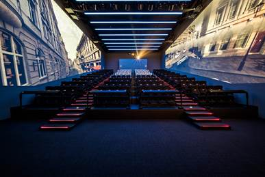 CJ 4DPlex is launching 4DX with ScreenX to create what the company says is the next revolution of immersive cinema.