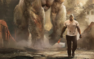 The monster-sized action adventure Rampage is coming to theaters in the 4DX and ScreenX formats.