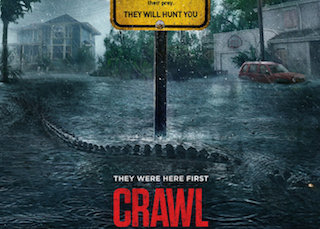 Paramount Pictures is releasing Crawl in the immersive, multi-sensory 4DX format from CJ 4DPlex.