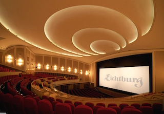 The Lichtburg, a historic cinema in the center of Essen, houses Germany's largest cinema hall with 1,250 seats.