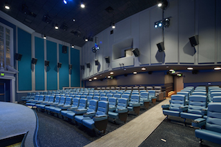 Christie cinema projectors illuminated all three screens for the September grand opening of New York State's newly renovated, historic Bedford Playhouse.