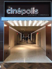 Cinépolis Luxury Cinemas in San Mateo, California installed its first ScreenX format auditorium in time for the December 13 opening of Sony Pictures Entertainment's Jumanji: The Next Level.