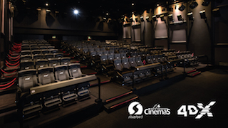 Silverbird Cinemas announced at CinemaCon this week that it is installing the first CJ 4DPlex 4DX theatres Nigeria.