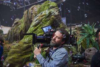 Dark Crystal cinematographer Erik Wilson. Photo by Kevin Baker, Netflix