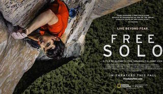 The film Free Solo leads this year's Critics' Choice Documentaries Awards with six nominations and one honor.