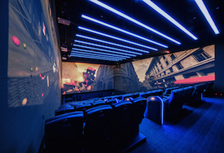 CGV Yongsan also houses the world's first 4DX-Screen X combination theater.