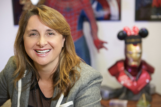 Victoria Alonso, producer and executive vice president, production for Marvel Studios, will receive the organization's 2018 Charles S. Swartz Award.