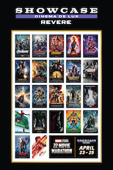 For fans that want to watch every Marvel movie in one sitting, Showcase Cinemas in Revere, Massachusetts has it covered.