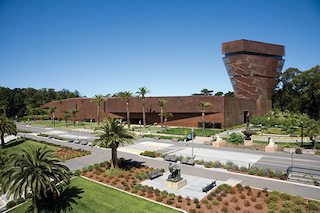 San Francisco's de Young Museum.