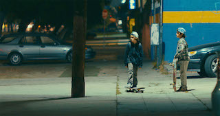Concrete Kids was shot by cinematographer Daron Keet with Panasonic VariCam LTs in available light mainly at night.