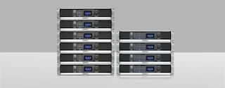 QSC is now shipping its DPA-Q Series network power amplifiers four- and eight-channel models.