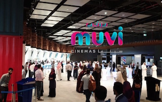 Muvi Cinemas in Jeddah, Saudi Arabia has installed the first Samsung Onyx Cinema LED screen in the kingdom.