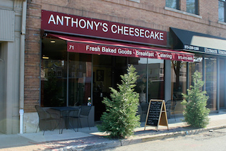 Anthony's Cheesecake of Bloomfield, New Jersey is the winner of Screenvision Media's nationwide Corner Stories promotion.