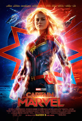 Captain Marvel, which opens March 8, will be the third movie from Marvel Studios to be converted into the ScreenX format.