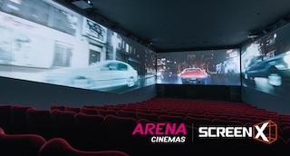CJ 4DPlex has opened three ScreenX sites in Switzerland this month through a partnership with Arena Cinemas.