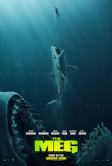 Warner Bros. Pictures and ScreenX are expanding their ongoing partnership to release the epic, action-packed undersea adventure The Meg in the immersive premium format.