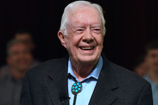 Wharton spent two years making Jimmy Carter: Rock & Roll President.