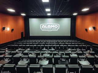 Alamo Drafthouse Cinema is installing the first Sony 4K laser projectors. Photo by Kathy Tran.