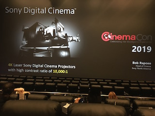Sony announced that it was entering the PLF market in conjunction with Galaxy Theatres.