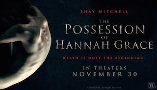 The Possession of Hannah opened in theatres on November 30th.