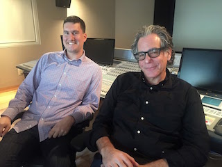 Sound Lounge supervising sound editors/re-recording mixers Steve Giammaria, left, and Evan Benjamin will speak at the Doc NYC Pro Conference, held in conjunction with the Doc NYC film festival.