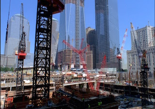 Tower 3, a new documentary short from Irish filmmaker and artist Marcus Robinson, commemorates the massive construction project behind the latest addition to New York's World Trade Center site, an 80-story structure that is now the city's fifth largest building.