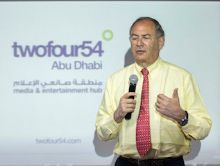 The board of twofour54 Abu Dhabi has appointed Michael Garin as its CEO.