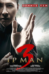 IP Man 3 will be released in China March 4 in 4DX.