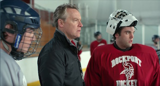 The Alchemy Foley team played a key role in the sound in hockey scenes.