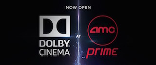 AMC and Dolby now say they will build more than 100 Dolby Cinema theatres.
