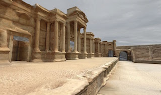 Arc/k's team of artists and technicians has already produced detailed models of Palmyra's theater and Temple of Baalshamin, which were heavily damaged by ISIS last year.