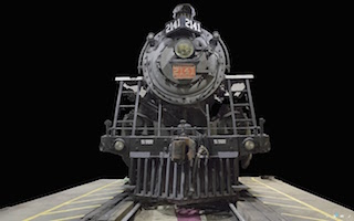The Arc/k Project is currently working with a Canadian heritage organization to create a 3D model of a 19th century steam locomotive.