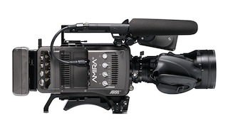 The Arri Amira camera.