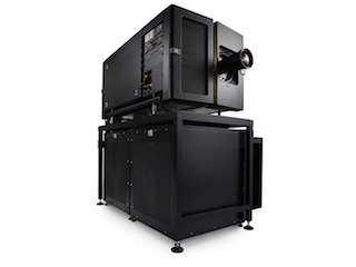 Barco DP4K-40LHC RGB Flagship, 6P 3D single chassis, integrated high contrast projector,
