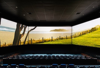 Barco Escape's multi-screen, panoramic movie format delivers audiences an unparalleled viewing experience.