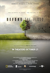 Antonio Rossi was the cinematographer on the documentary Before the Flood.
