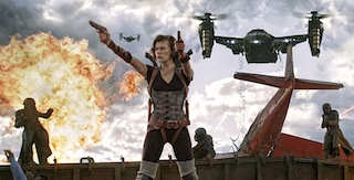 Resident Evil: Retribution and Pompeii