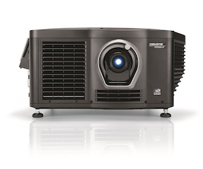 The Christie CP2208-LP laser phosphor projector.