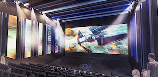 An artist's rendering of CGR Cinemas new Premium Room concept.