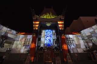 Christie 360 Experiential Studios has delivered the world's first permanent projection mapping show on a cinema façade at the TCL Chinese Theatre in Hollywood.