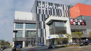 The 17-screen Taichung Showtime Cinemas located within the new Taichung Showtime Plaza is the first cinema in Taiwan to be equipped with a Christie RGB laser projection system.