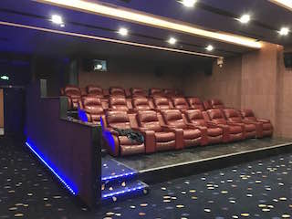 MZC Quanjing Cinema is the first cinema complex in China's Inner Mongolia Autonomous Region to be fully equipped with Christie Vive Audio.