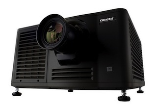 A Christie CP4220 4K digital cinema projector