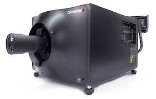 The Christie CP4325-RGB Pure RGB laser projector