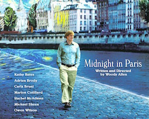 The technology was also used on Woody Allen's Midnight in Paris.