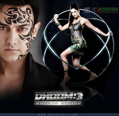 Dhoom: 3 will be released in Dolby's digital cinema sound technology Atmos.