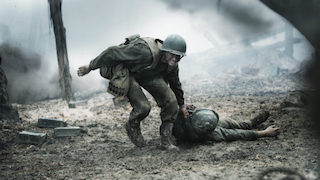 A scene from Hacksaw Ridge.