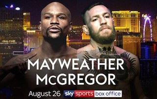 Last summer's McGregor-Mayweather fight live in the UK and Ireland cinemas was a huge event cinema success.