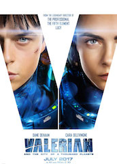Luc Besson's latest film, Valerian and the City of a Thousand Planets, will be available in ÉclairColor.