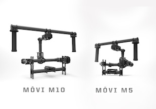 Freefly Systems MōVI series camera rigs